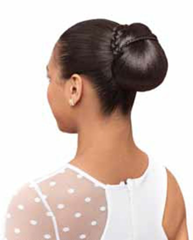 Synthetic Hair Bun Medium Micro Dome