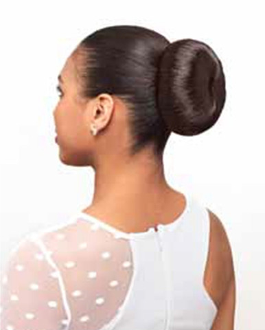 Synthetic Hair Bun Large Donut Dome
