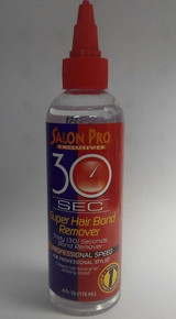 SALON PRO 30 Sec Super Hair Bond Remover, 4 oz