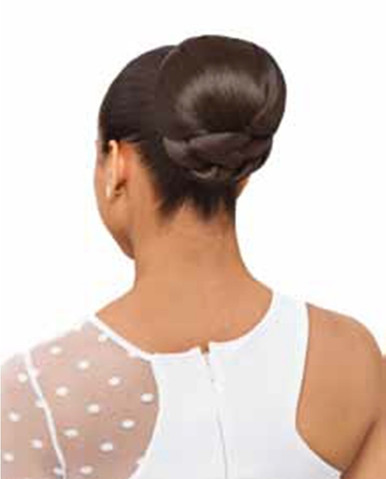 Synthetic Hair Bun Large French Dome