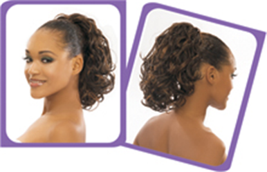 Synthetic Hair Drawstring Ponytail - RHEA
