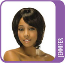 Synthetic Hair Full Wig - Jennifer