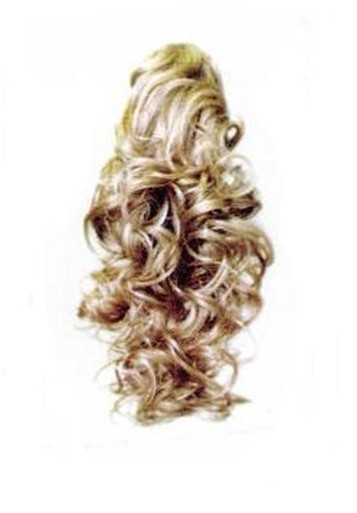 "15"" Synthetic Hair Claw Clip & Drawstring Ponytail - BV101"