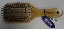 Diane by Fromm 9 Row Mini Cushion Paddle Bamboo Hair Brush D9572