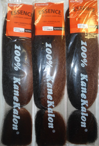 Kanekalon Jumbo Braiding Hair Extensions (3- pack)