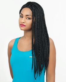 Carefree Lace Front Wig Box Braid Style ShaynaLF