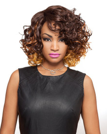 Heat Fusion Lace Front Wig - Shea - High Temperature Fibers - Heat Ok