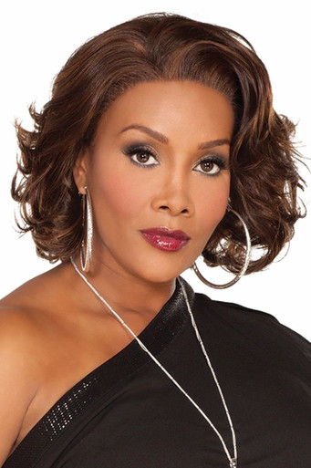 "Vivica A Fox 12"" Remi Human Hair Lace Front Wig Leslee-V - Loose Curls"