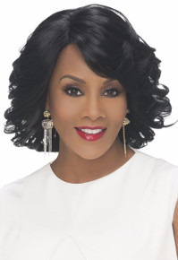 Vivica A Fox Short Synthetic Hair Lace Front Wig Darby - Heat OK