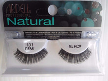 Ardell Strip Lashes False Eyelashes Demi 101 Black (Pack of 6)