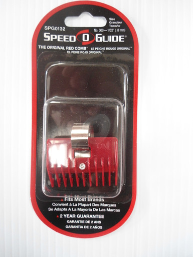 """Speed O Guide Universal Trimmer/Clipper Guards - Size 1/32"""""""
