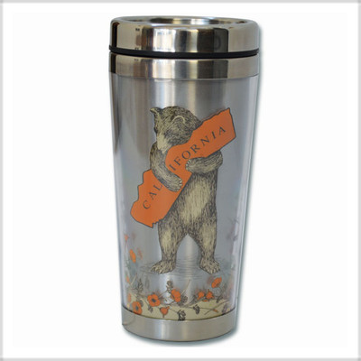 Insulated Travel Mug.