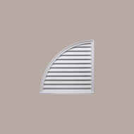QLLV24____QUARTER  LOUVER DECO 24X24X2 - Left