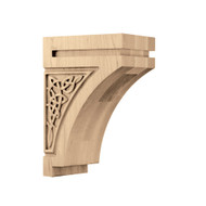 "CRV7020MA_9 1/2"" Medium Gaelic Corbel Maple"