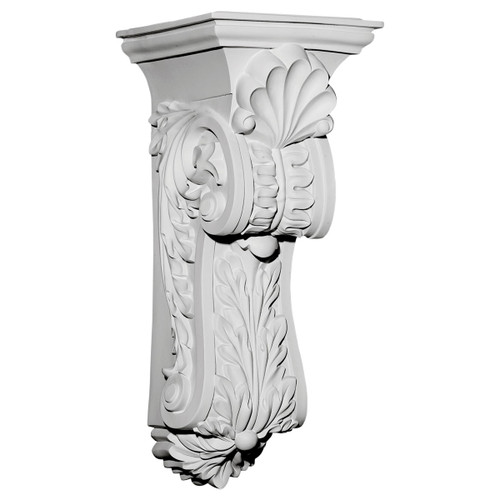 COR10X11X25SC - Scroll Leaf Corbel