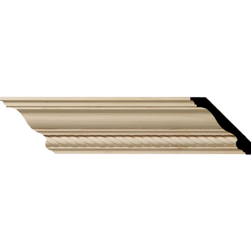 MLD03X03X05ADAL - Wood Crown Molding, Alder