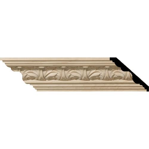 MLD02X02X03ACMA - Wood Crown Molding, Maple