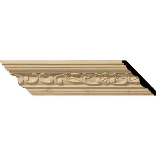MLD02X02X03MEMA - Wood Crown Molding, Maple