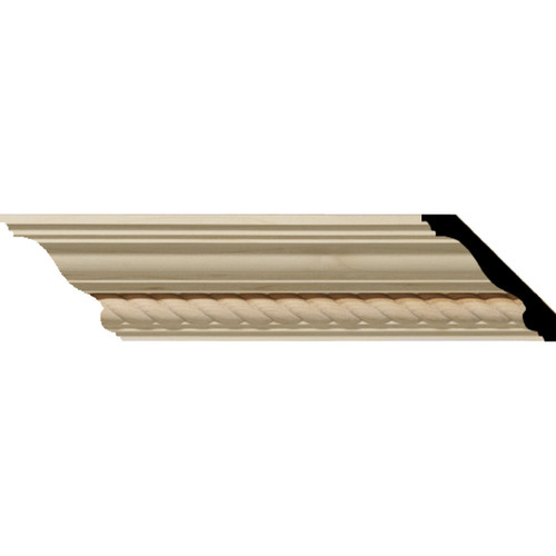 MLD02X02X03AD - Wood Crown Molding, Stain Grade