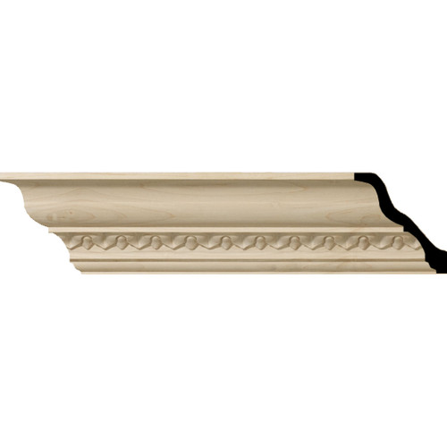 MLD03X03X05LA - Wood Crown Molding, Stain Grade