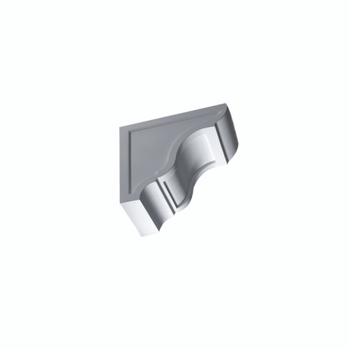 Fypon BKT12X10 - 12X10-1/8X7-1/4 Smooth Bracket