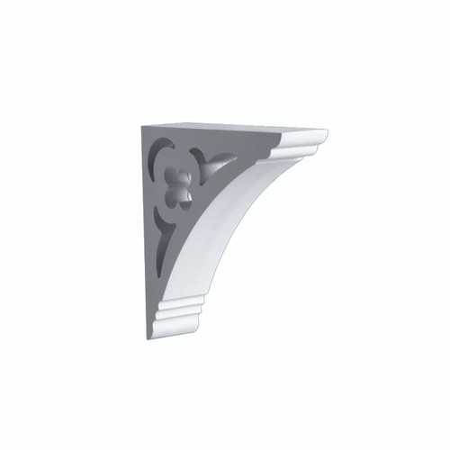 Fypon BKT12X12X3 - 12X12X3 Smooth Bracket