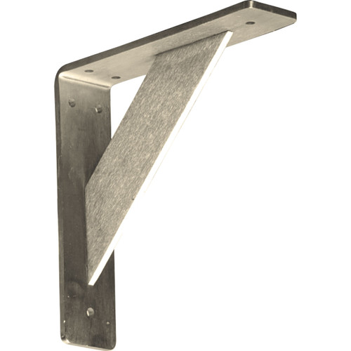 BKTM02X08X08TRSS - Traditional Metal Bracket