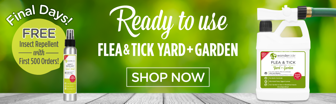 FREE GIFT with Ready to Use Flea & Tick Yard + Garden