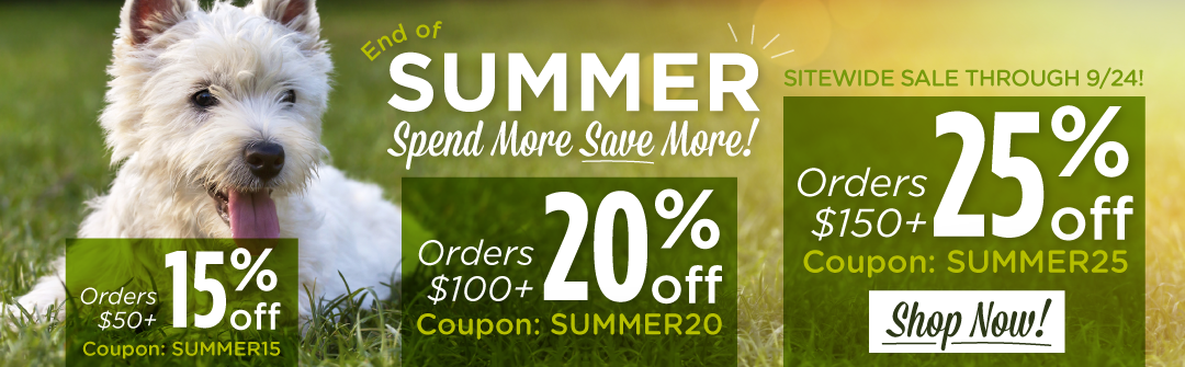 Save up to 25% Sitewide!