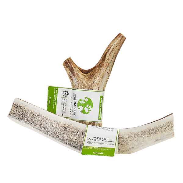 Naturally-Shed Elk Antler Dog Treats   Small