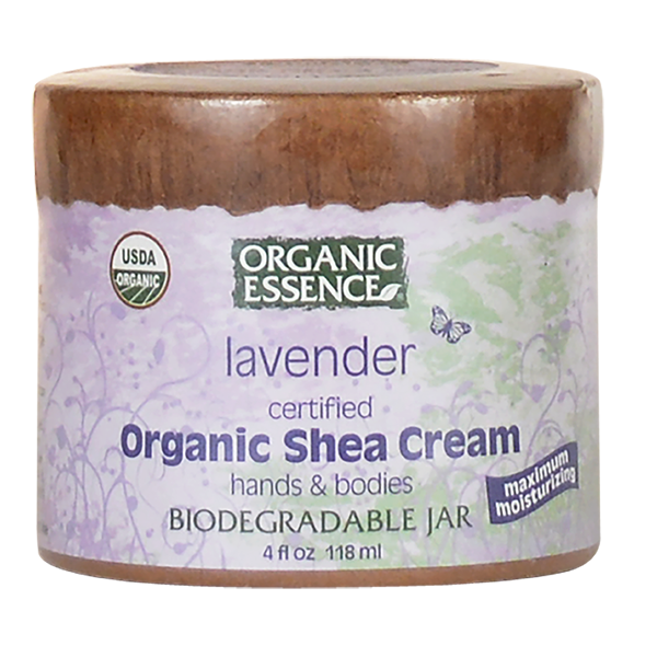 Organic Essence Pure Shea Butter | Lavender - Front