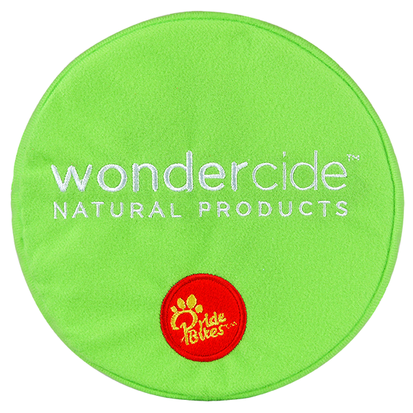 Wondercide Plush Dog Toy by Pride Bites - Back