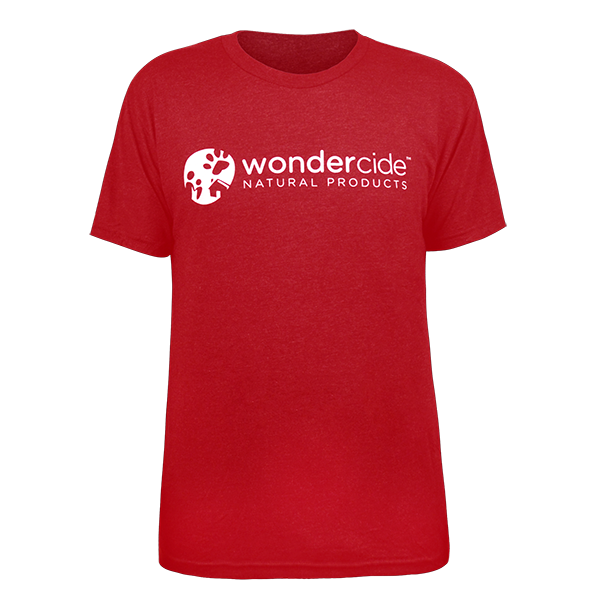 Wondercide Shirt – Crew Neck - Front – Vintage Red
