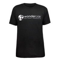 Wondercide Shirt – Crew Neck - Front – Vintage Black