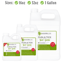 FLEA & TICK | Natural Outdoor Flea & Tick Control Concentrate | Available in 16oz, 32oz, 1 Gallon