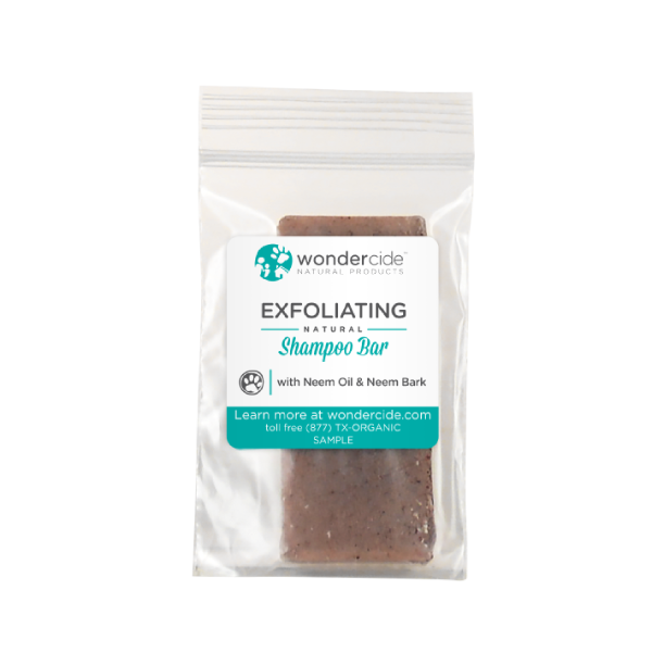 Natural Shampoo Bar with Neem Bark | EXFOLIATING | Sample