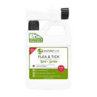 READY TO USE FLEA & TICK | Natural Outdoor Flea & Tick Control | Kills & Repels 100s of Pests | 32 oz