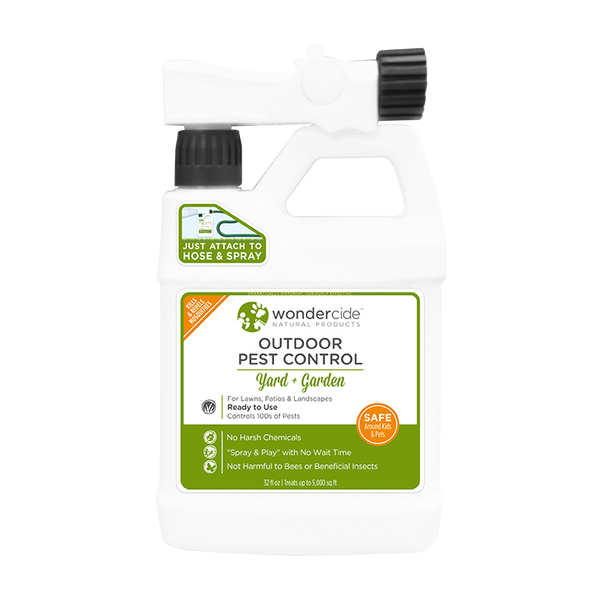 READY TO USE OUTDOOR |  Natural Pest Control | Kills & Repels 100s of Pests | 32 oz
