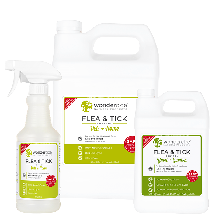 FULL TREATMENT KIT | Natural Flea & Tick Control | Lemongrass
