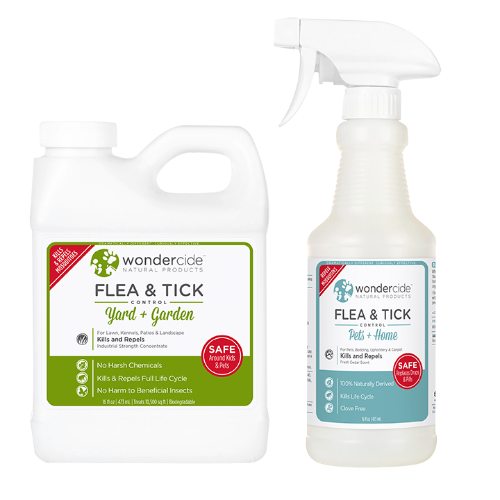 PREVENTION KIT | Natural Flea & Tick Control | Pets + Lawn | Cedar