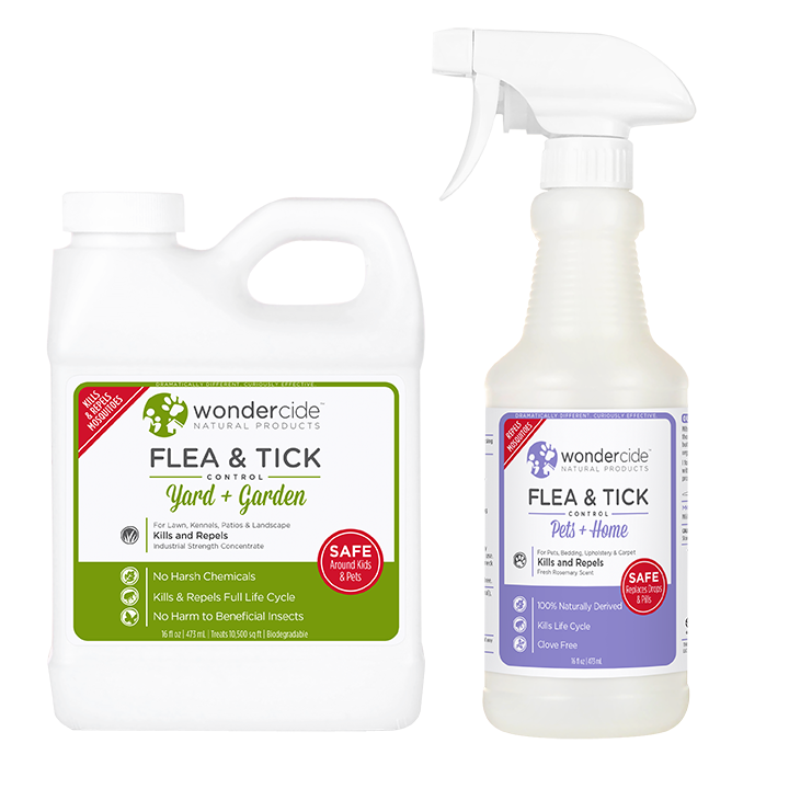 PREVENTION KIT | Natural Flea & Tick Control | Pets + Lawn | Cedar + Rosemary