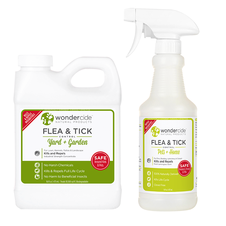 PREVENTION KIT | Natural Flea & Tick Control | Pets + Lawn | Cedar + Lemongrass
