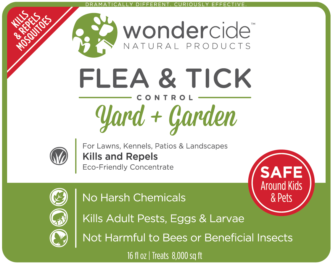 PREVENTION KIT | Natural Flea & Tick Control | Pets + Lawn | EcoTreat Label Front