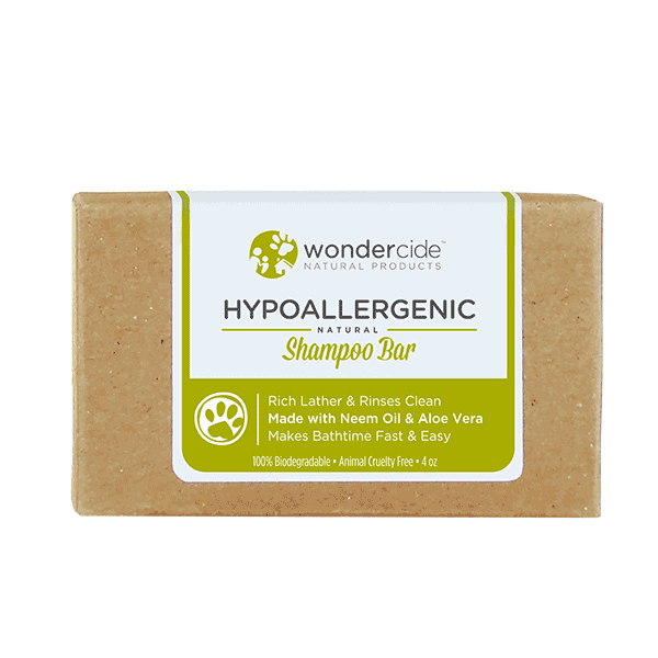 HYPOALLERGENIC | Natural Shampoo Bar for Dogs with Aloe
