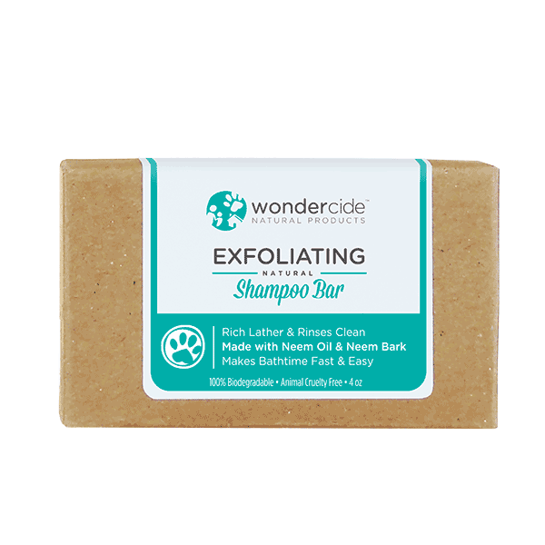 EXFOLIATING | Natural Shampoo Bar for Pets with Neem Bark