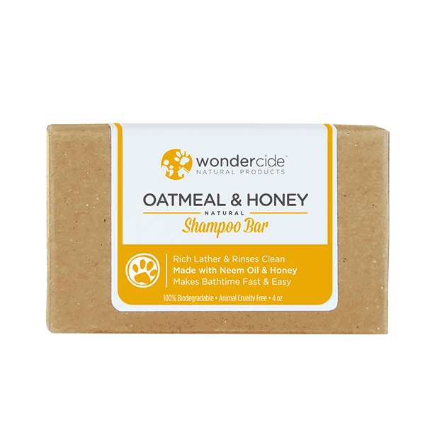 OATMEAL & HONEY | Natural Shampoo Bar for Dogs with Honey