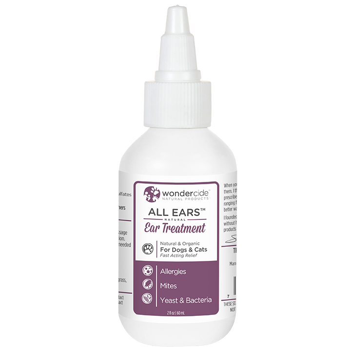 Natural Ear Mite & Infection Treatment - Front