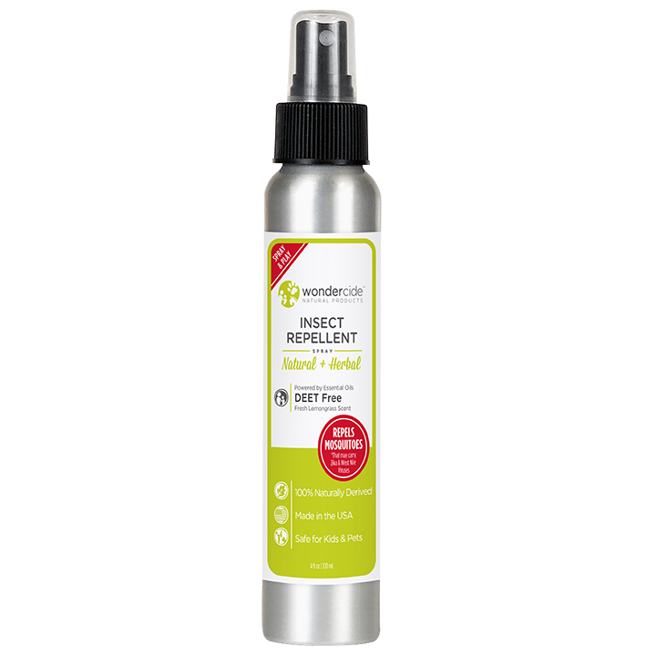 Natural Personal Insect Repellent | 4oz Lemongrass