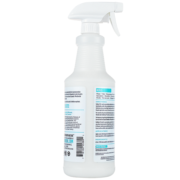 Natural Home & Garden Insect Control Spray - Back