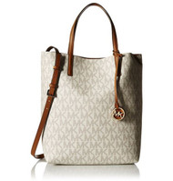 Michael Kors Hayley Large Logo North-South Tote - Vanilla - 30F6GH3T3V-149 …